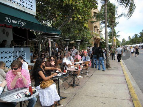 Miami Restaurants Ocean Drive